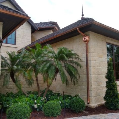 copper gutters keys florida