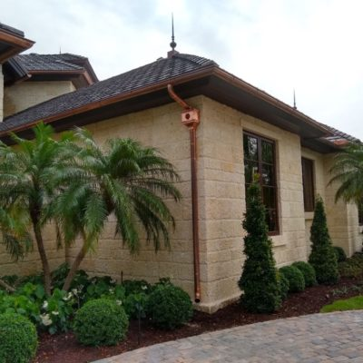 copper metal gutters keys florida