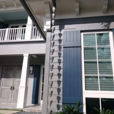keys rain chains gutters metals tavernier keys florida